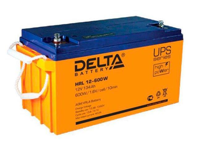Аккумулятор свинцово-кислотный АКБ DELTA (Дельта) HRL 12-600W 12 Вольт 134Ач