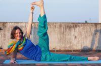 Прямые штаны для йоги из хлопка, женские и мужские, Москва