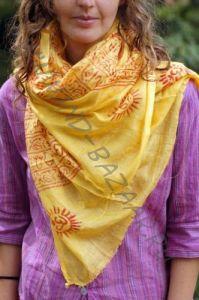 Тонкие универсальные шарфы из мягкого хлопка, РАЗНЫЕ ЦВЕТА, Москва