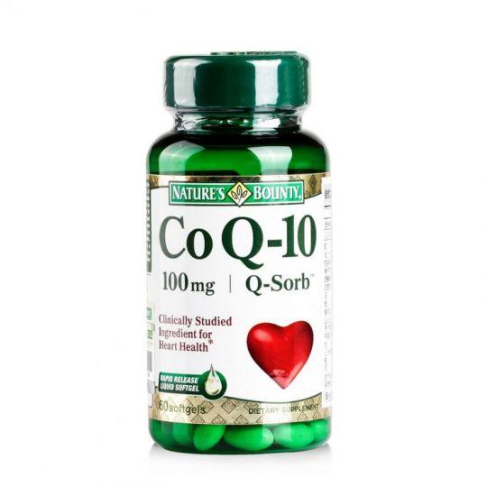 Нэйчес Баунти Коэнзим Q-10 100 мг, 60 капсул