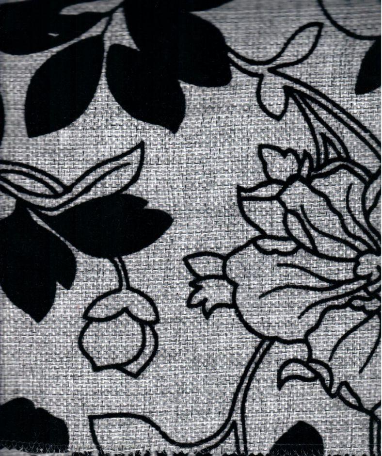 Мальта серая цветы F330-7A