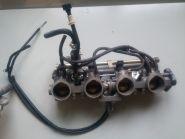Инжекторный модуль: блок дроссельных заслонок, форсунки, топливная рампа, датчик положения дроссельных заслонок, пускогвой обогатитель (автоматический подсос)  Honda  CBR929
