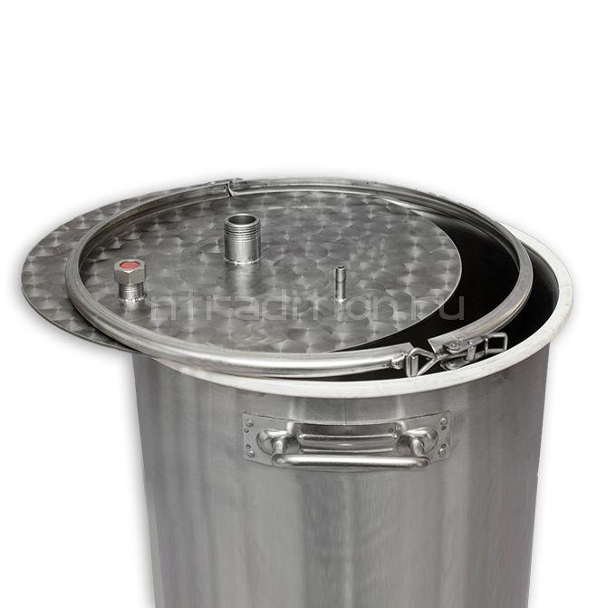 Крышка пивоваренного (сусловарочного) котла 50л для дистилляции, серия ХД/4