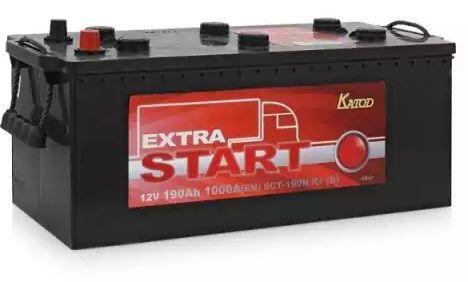 Автомобильный аккумулятор АКБ Extra START (Экстра Старт) 6CT-190 190Ач о.п.