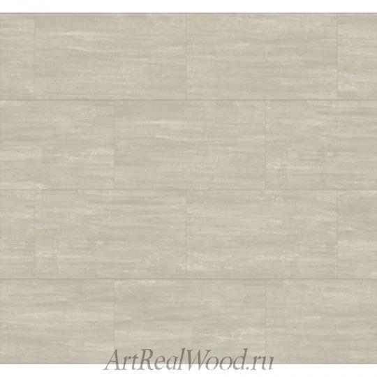 Кварц-виниловая плитка 3001 Белый бетон с замковым соединением