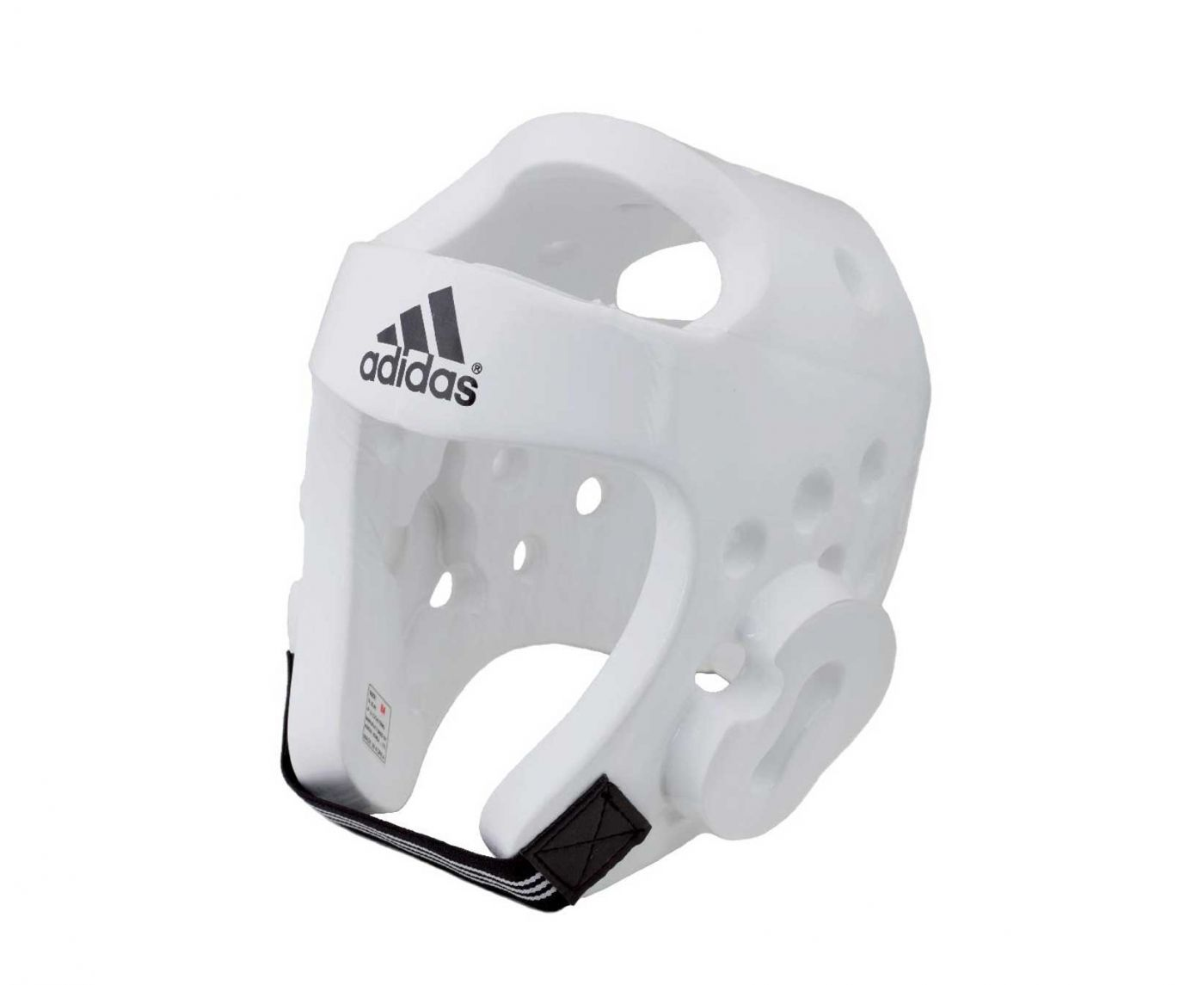Шлем для тэквондо Adidas Head Guard Dip Foam WTF белый, размер ХL, артикул  adiTHG01