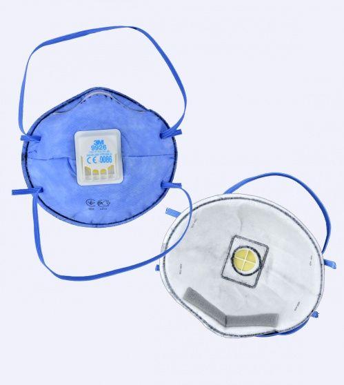 Респиратор от кислых газов и паров 3М-9926 FFP2 с клапаном до 12ПДК