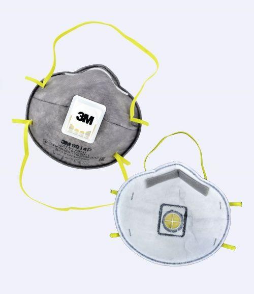 Респиратор от органических паров 3М-9914 FFP1 с клапаном до 4ПДК