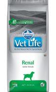 Farmina Vet Life Dog Renal Диета для собак при хронической почечной недостаточности и для вспомогательной терапии при застойной сердечной недостаточности  (12 кг)