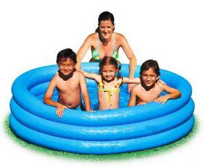 """Надувной бассейн """"Голубой ручеек"""""""