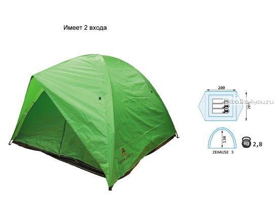 Купить Палатка Reisen Zehause 3 (woodland)