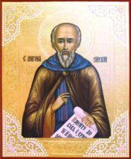 Икона Антоний Сийский (рукописная)