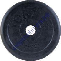 Диск обрезиненный Torres 2.5 кг d-26 мм