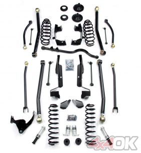 "JK 2 Door 2.5"" Elite LCG Long FlexArm Lift Kit w/ SpeedBumps"