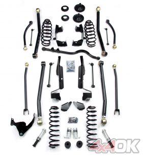 "JK 2 Door 2.5"" Elite LCG Long FlexArm Lift Kit w/ SpeedBumps"