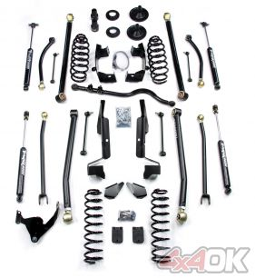 "JK 2 Door 3"" Elite LCG Long FlexArm Lift Kit w/ 9550 Shocks"