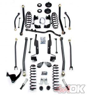 "JK 2 Door 3"" Elite LCG Long FlexArm Lift Kit w/ SpeedBumps"