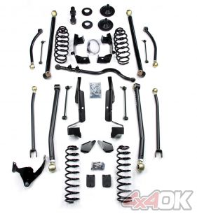 "JK 2 Door 3"" Elite LCG Long FlexArm Lift Kit"