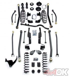"JK 2 Door 4"" Elite LCG Long FlexArm Lift Kit"