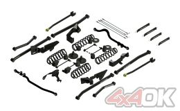 "JK 2-Door 4"" Sport S/T4 Long Arm Suspension System"