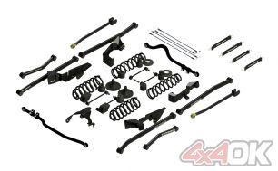 """JK 2-Door 4"""" Sport S/T4 Long Arm Suspension System"""
