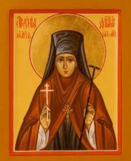 Арсения Добронравова (рукописная икона)