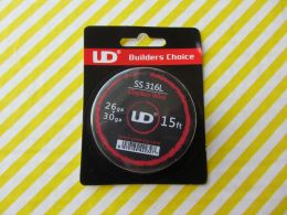 Youde UD SS 316L Clapton Wire 26ga+30ga