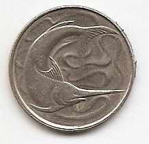 Марлин 20 центов Сингапур 1982
