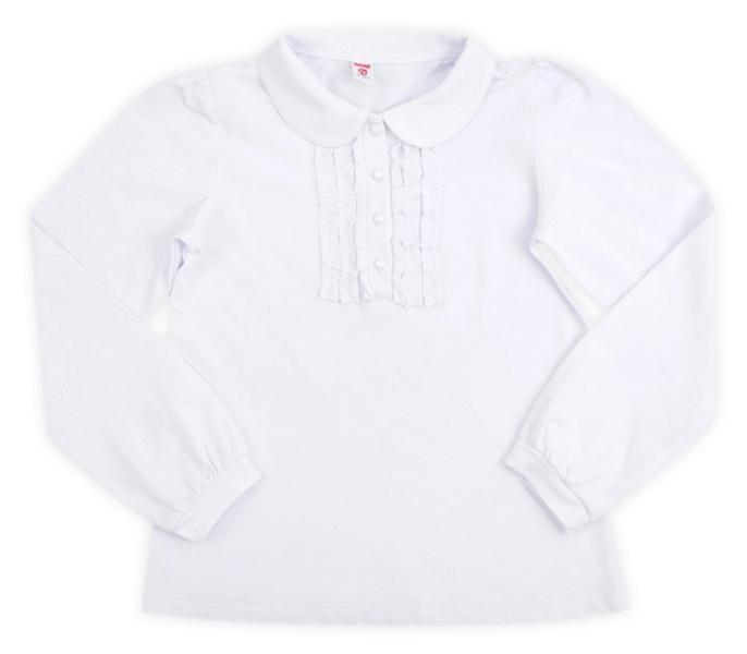 Стильная белая блуза для девочки