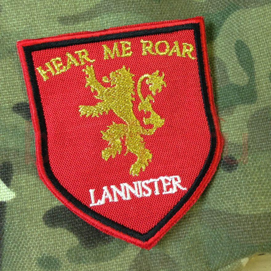 """Шеврон герб """"Lannister"""""""