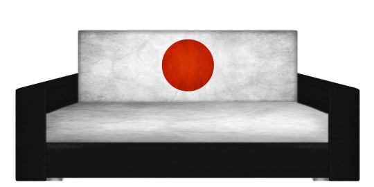 """Диван-книжка фото-принт """"Японский стиль 2"""""""