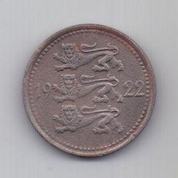 5 марок 1922 г. Эстония