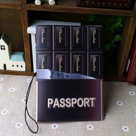 "Обложка на паспорт ""Шоколад"""