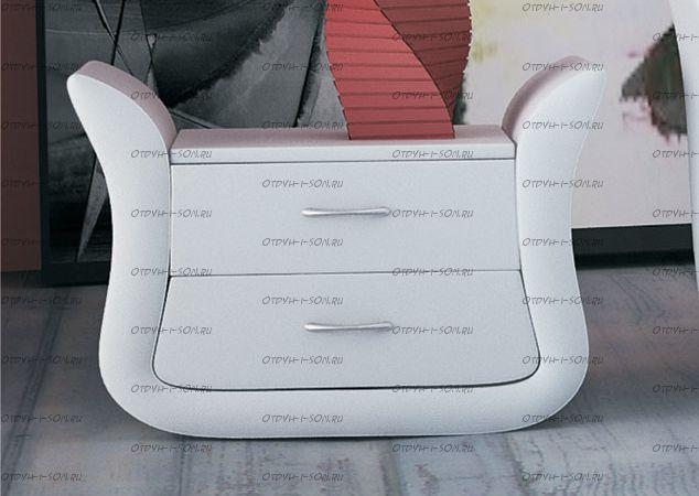 Тумба прикроватная (ночной столик) Orсhidea (66х41х51)