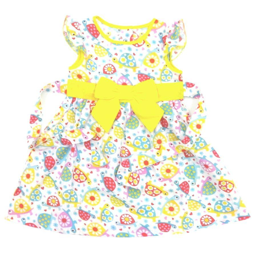 Платье Черепашки с пышным бантом