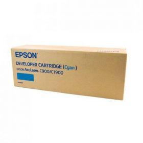 C13S050099  Тонер-картридж  оригинальный  EPSON голубой для AcuLaser C900/C1900