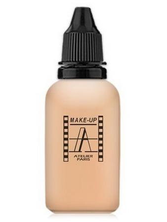 Make-Up Atelier Paris HD Fluid Foundation Apricot AIR2A apricot clear Тон-флюид водостойкий для аэрографа 2А светло-абрикосовый