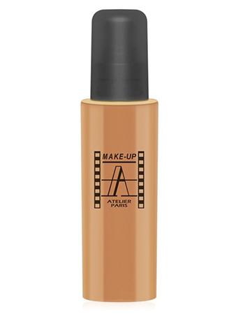 Make-Up Atelier Paris Fluid Foundation Apricot FLW4NB Apricot honey Тон-флюид водостойкий 4А Натурально - абрикосовый (абрикосовый)
