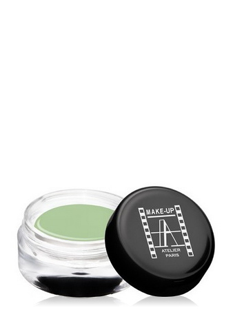 Make-Up Atelier Paris Gel Concealer Olive CGCV1 Almond green Гель-камуфляж CV1 зеленый миндаль (покраснения на светлой коже)