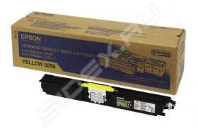 C13S050558  Тонер-картридж  оригинальный EPSON желтый для AcuLaser C1600/CX16