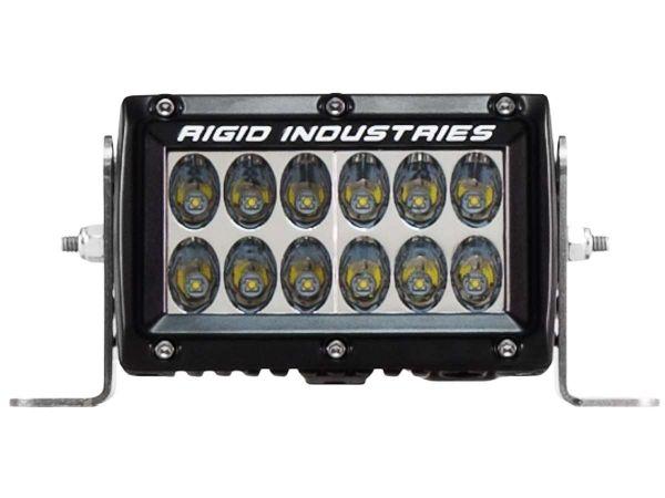 """Двухрядная светодиодная балка Rigid Industries 4"""" Е2-Серия (12светодиодов) Водительский свет"""