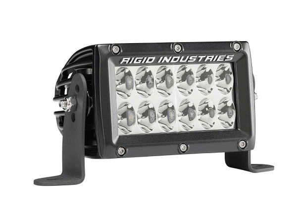 """Двухрядная светодиодная балка Rigid Industries 4""""  Е2-Серия H/L (12 светодиодов) Водительский свет"""