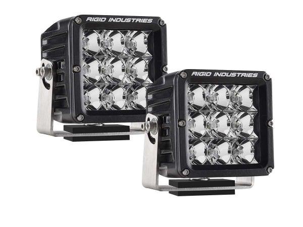 Квадратная светодиодная фара Rigid Industries Dually XL (9 светодиодов) Ближний свет, комплект 2 шт.