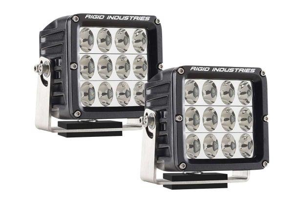 Квадратная светодиодная фара Rigid Industries Dually D2 XL (12 светодиодов) Водительский свет, комплект 2 шт.