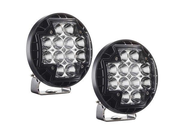 Круглая светодиодная фара Rigid Industries R-46 Серия (12 светодиодов) Ближний свет, комплект 2 шт.