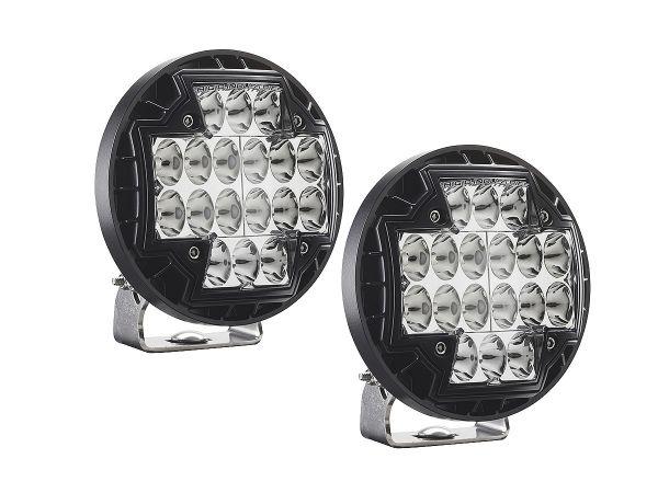 Круглая светодиодная фара Rigid Industries R2-46 Серия (18 светодиодов) Водительский свет, комплект 2 шт.