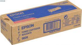 C13S050628  Тонер-картридж  оригинальный EPSON пурпурный для AcuLaser C2900/CX29