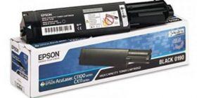 C13S050190  Тонер-картридж  оригинальный EPSON черный для AcuLaser C1100