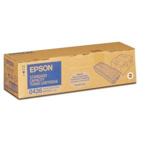 C13S050436  Тонер-картридж  оригинальный EPSON 0436 черный для AcuLaser C2000