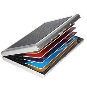 Алюминиевая визитница для пластиковых карт